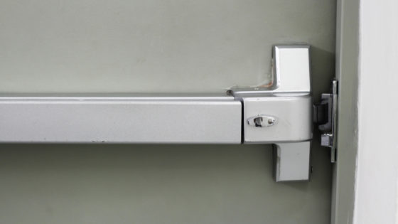 how to open a commercial door lock